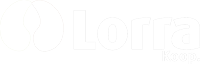 Logo Lorra blanco